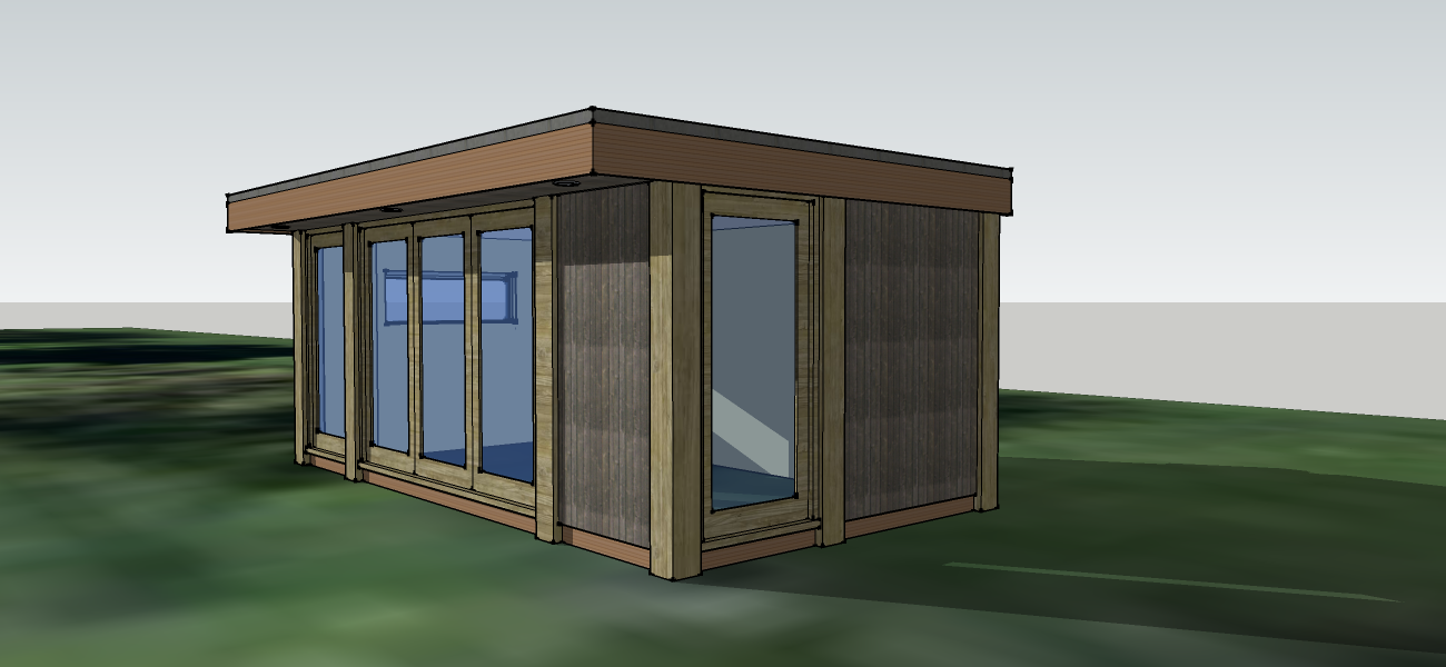 Garden studios bespoke building for Large garden studio